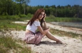 zdjęcia do agencji modelek portretowe polaroidy