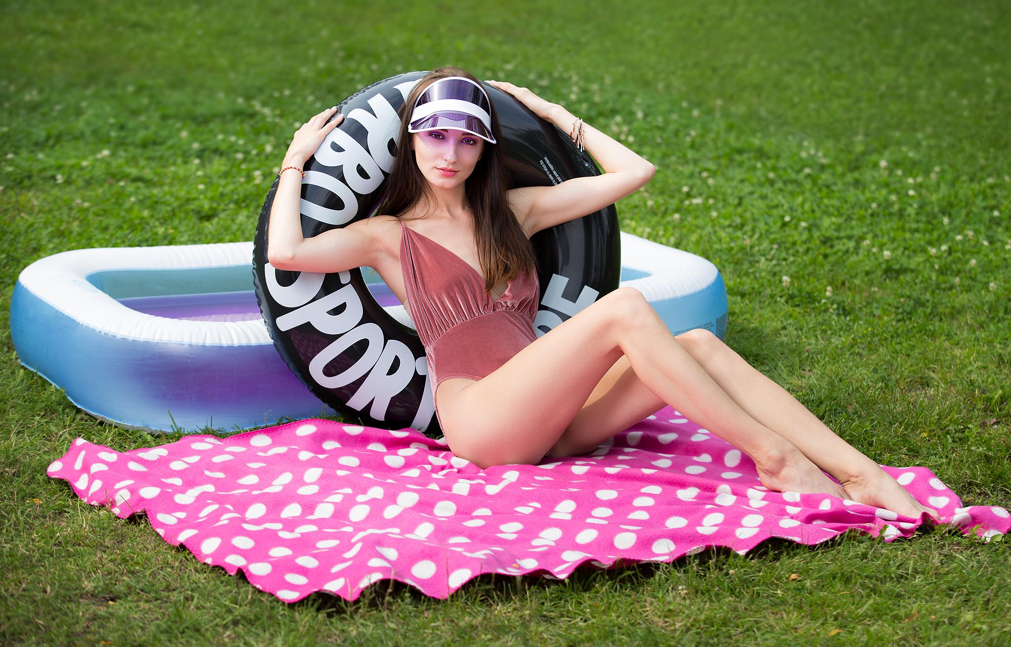 angelika przychodzka basen modelka fotograf Lublin