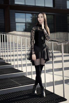Maggie Chan modelka Piotr Dejneka fotograf Lublin