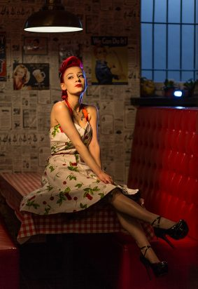 Marlena Marzec - rockabilly w Red Rock City w Lublinie