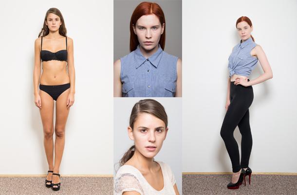 Zdjęcia polaroidy dla modelek